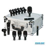 AUDIX FP7 KIT FUSION 7 Microfonos con Estuche