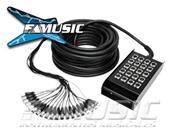 CABLELAB CLSN-16430 16 canales 4 envíos 30 mts