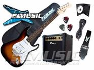 COMBO KITS ARMADOS COMBO Stratocaster Squier Bullet FAT