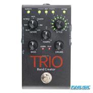 DIGITECH TRIO Emulador de Banda, 7 géneros musicales