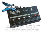 MOON MDJ400 DJ Mixer 4 Canales