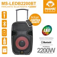 MOONKI SOUND MS-LEDB2200BT