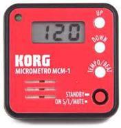 KORG MicroMetro Metronomo Digital RD Red