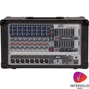 PEAVEY PVI 8BPLUS - 10 canales - 1400W Progr. - 19 entrad
