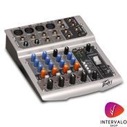 PEAVEY PV6 - 6 canales - 48v Phantom power - EQ 3 bandas