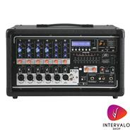 PEAVEY PV 6500 USB- 6 canales - 400W (2 x 200W, asignable