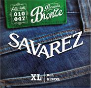 SAVAREZ A130XL ACOUSTIC BRONZE extra light 010-047