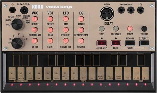 KORG VOLCA KEYS - 3 note true analogue synthesis