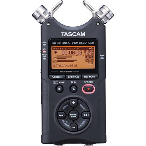 TASCAM DR-40 - 4 canales